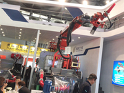 Congratulations!Weibang TXJS 2515 shotcrete robot has been sold at Shanghai Bauma Exhibition