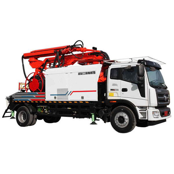 Truck-mounted-shotcrete-machine